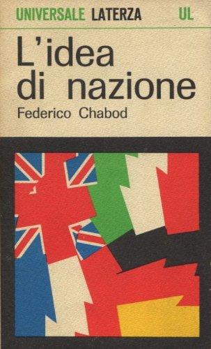 L'idea di nazione.