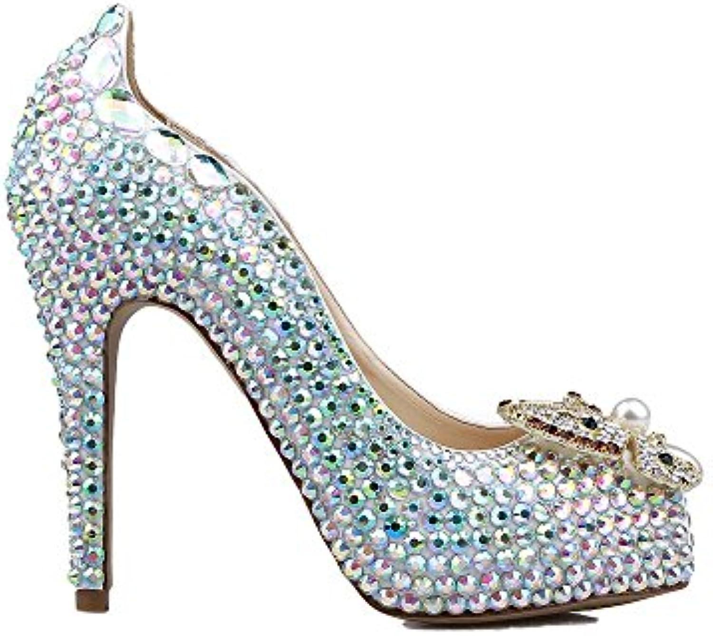 Lacitena Lacitena Lacitena Shiny Materials Dress scarpe Ladies Heels Scarpe da Sposa | Tatto Comodo  | Scolaro/Signora Scarpa  7baa16