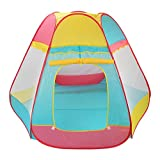 #6: PIGLOO Pop up Play House Tent for Kids Ages 3+ Years, 110 x 137 x 55 cm, 1 Piece