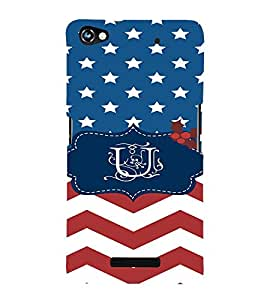 EPICCASE Repeated design Mobile Back Case Cover For Micromax Canvas Hue 2 A316 (Designer Case)
