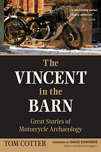 Vincent in the Barn: Great Stories of Motorcycle Archaeology Club Track Jacket