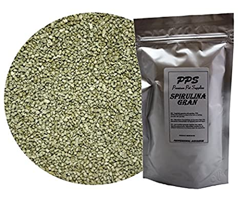 PPS SPIRULINA GRAN - vegetable, sinking granules with high content of spirulina (36%) - FREE DELIVERY