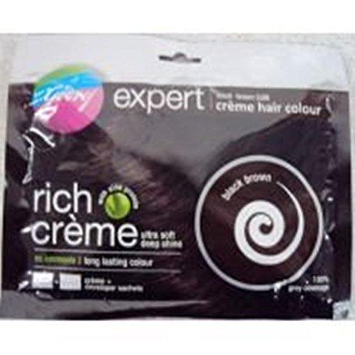 Godrej Expert Rich Cream Kit Black Brown 20G (Pack Of 5) by Godrej