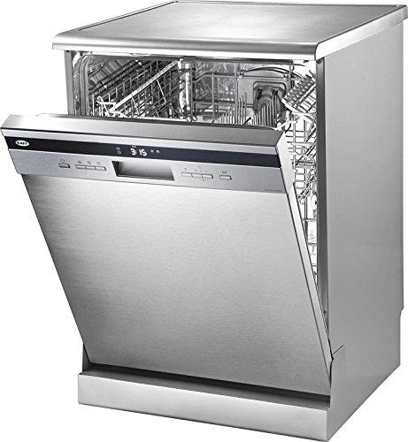 Kaff 45 Place Settings Dishwasher (KDW VX 60 QUADRA, Silver)
