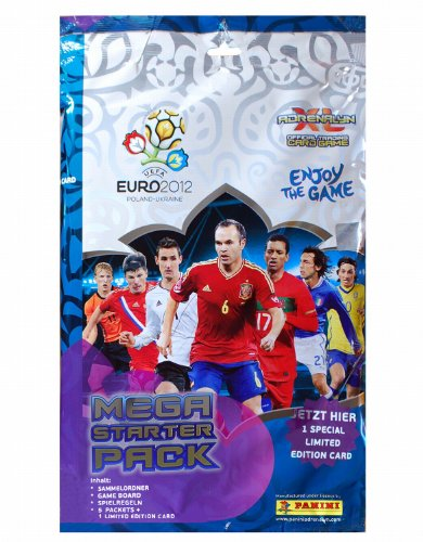 Panini 04792 - Adrenalyn XL-Euro 2012 Starterset (Album Xl)
