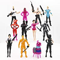12PCS Fort Game Action Figures Cartoon Toys Anime Collection Decoration Children Gift , 12pcs