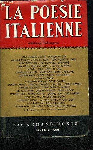 La poésie italienne par MONJO Armand