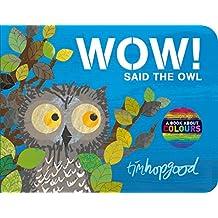 WOW! Said the Owl (English Edition)