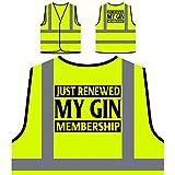 Ho appena rinnovato il mio abbonamento a Gin Personalizzato Hi Visibilità Giacca Gilet di sicurezza v924v