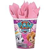 Amscan–Paw Patrol rosa vasos de papel (8unidades)