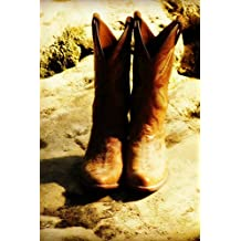 Cowgirl Boots Notebook
