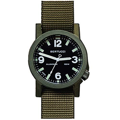 Bertucci a-6a Experior 16504uomo Defender oliva nylon Band marine nero Giappone al quarzo, quadrante