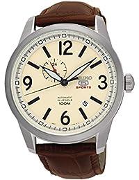 Seiko Reloj Análogo clásico para Hombre de Cuarzo con Correa en Cuero  SSA295K1 1921173fb381