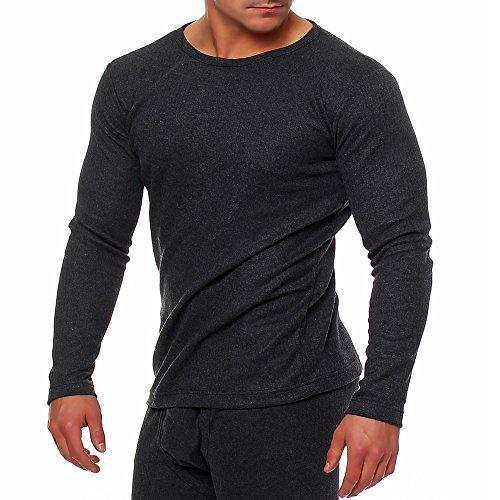 SGS térmica Camisa Hombre LTWT térmicas Hombre Anthrazit