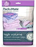 Packmate ® 2 Large Volume Vacuum Compressed Space Saver  Storage Bags (50 x 85cm) For Clothing, Kingsize Duvets, Bedding & More