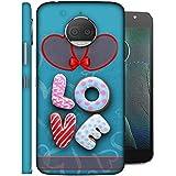 LifeDesign Designer Back Case Cover For Motorola Moto G5S Plus (heart Full Of Love Feelings)