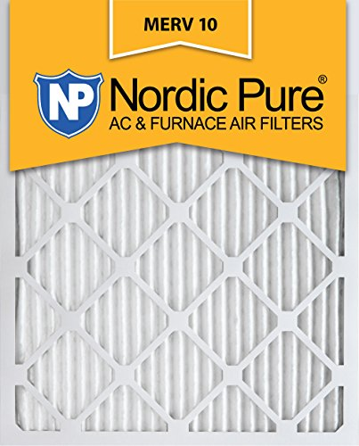 Nordic Pure 16x 20x 1M10–2Merv 10AC Ofen Filter 16x 20x 1Plissee Merv 10AC Ofen Filter 2Stück