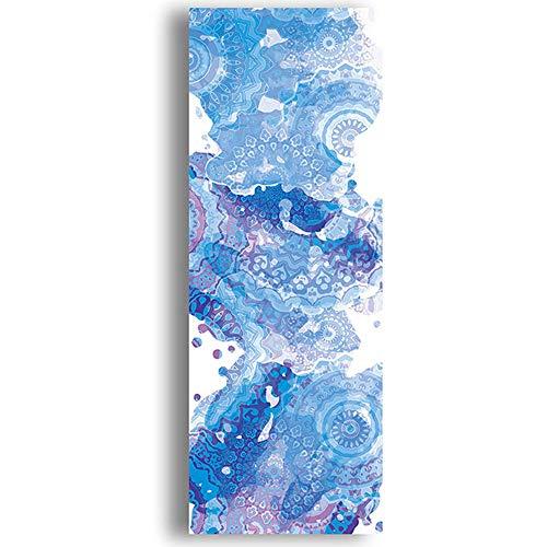 wordeye 183 * 63 cm Yoga Handtuch Diamant Textur rutschfeste Tragbare Reise Yoga Matten Handtuch Matte Abdeckung Pilates Fitness Yoga Decke 1# 183 * 63CM