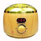 YNNB Scaldacera, Depilazione elettrica Portatile Professionale con Fusione del riscaldatore di ceratura a Temperatura Regolabile, Spa per ceretta Total Body in casa per Ragazze Donne Uomini
