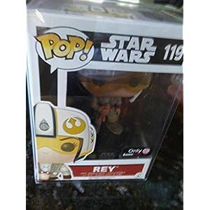 Funko Pop Rey con casco X-Wing (Star Wars 119) Funko Pop Star Wars