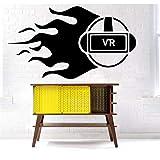 Wand PVC Spielpuppe 58x103cm Moderne dekor design benutzerdefinierte pvc muster wandtattoo geschenk aufkleber kunst dekor tapete diy