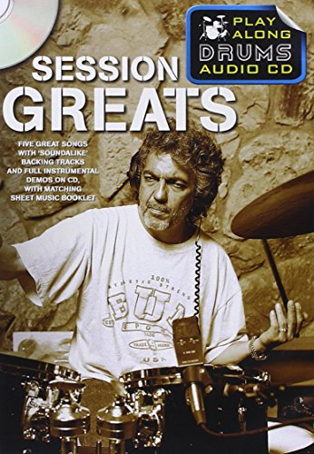 Play Along Drums Audio CD: Session Greats por Collectif