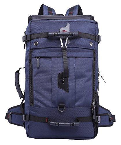 ThreeH Großer robuster Laptop Computer Rucksack Outdoor Reisetasche Ausrüstung für Wandern Klettern PA015Blue (Umweltfreundliche Outdoor-ausrüstung)