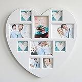 IOVIVO Wand Herz Galerierahmen für 10 Bilder