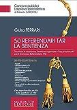 50 referendari TAR. La sentenza