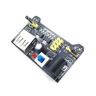AptoFun Netzteil Adapter Modul Power Supply Module für Breadboard MB102 3,3V / 5V Arduino Steckbrett