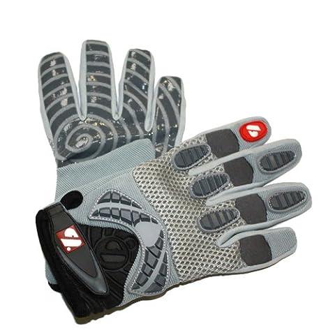 barnett FRG-02 gants de football américain de receveur fit, taille M, gris