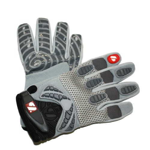 FRG-02 Fit receiver football gloves, RE, DB, RB, Grey, barnett Test