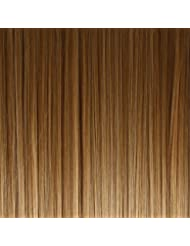 BiYa Hair Elements Extensions de cheveux raides en forme de chignon Brun caramel n°12