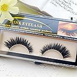 Generic 1 box 1 pairs : False Eyelashes Luxury Handmade Natural Thick False Eyelashes End Eye Elongated Natural Makeup Tools False Eyelashes