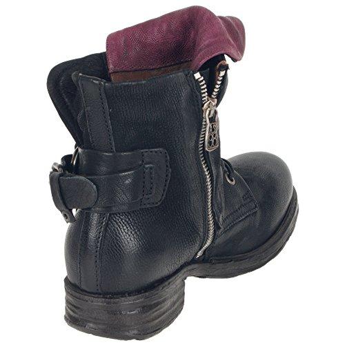 A.S.98 Boots in schwarz as-259211 Schwarz