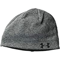 Under Armour, Men'S Sweater Fleece Beanie, Berretto, Uomo, Nero, Taglia Unica