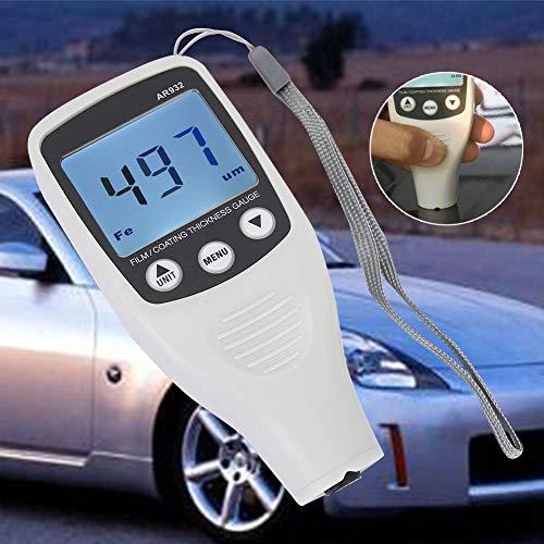 Lackdickenmessgerät,AR932 Paint Thickness Tester Digitales Schichtdickenmessgerät Autolack Tester Coating Thickness GaugeAuto Beschichtung Messgerät,Messbereich 0~1700 um, 0~67,8 mils (Tester Thickness Paint)