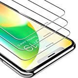 UNBREAKcable iPhone X Panzerglas [3 Stück] für Apple iPhone X, 9H Härte Panzerglasfolie, 2.5D...