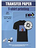 PPD Inkjet T Shirt Transfer Paper A4 for Dark Fabric x 20 Sheets