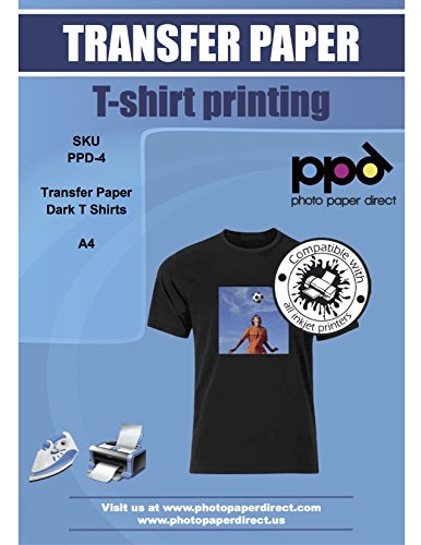 Photo Paper Direct Inkjet Papel Transfer camisetas