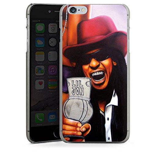 Apple iPhone X Silikon Hülle Case Schutzhülle Lil Jon Crunk Hiphop Hard Case anthrazit-klar