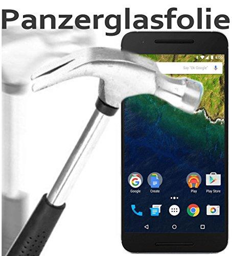Huawei Nexus 6P Glas Glasfolie 9H Panzerglas Panzerglasfolie Schutzfolie