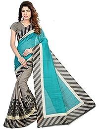SVB Sarees Designer Bhagalpuri Art Silk Saree For Women