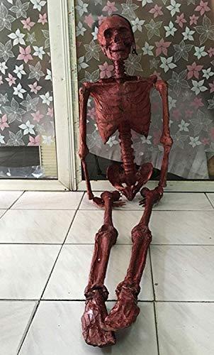 Requisiten Simulation Blutigen Horror Beängstigende Mumie Zombie Trockene Leiche Latex Terror Kammer Bar Dekoration Haunted Haus Requisiten Dekoration Geschenk Erwachsenenanteil ()