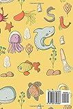 Fishing Journal: Boat Diary, Fishing Journal Log, Fish Diary, Rainbow Fish Book, Cute Sea Creature Cover: Volume 73 (Fishing Journals)