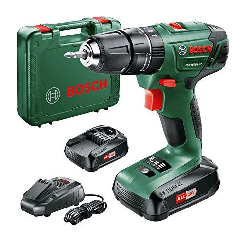 Bosch 06039A3370 Akku-Bohrer PSB 1800 LI-2, 06039A3371