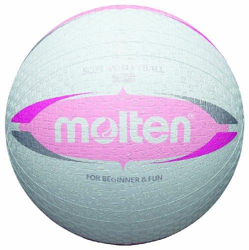 Molten Kinder Dodgeball Ball, weiß/pink, ø 20,0 cm