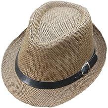 ZARLLE Sombrero De Jazz BritáNico Sombrero De Paja De Sombra De Playa  Transpirable Al Aire Libre 3b3a19a28a6