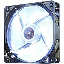 NOX NXCFAN120LW - Ventilador para caja de ordenador, 120 x 120 mm, color blanco