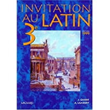 Invitation au latin 3e